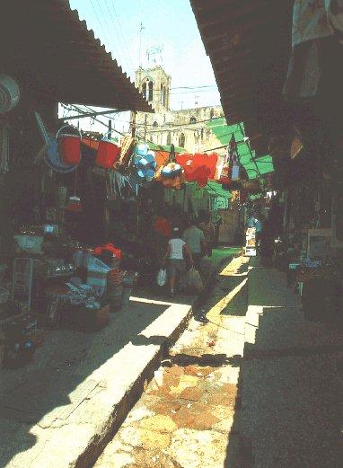 나사렛 마을 골목