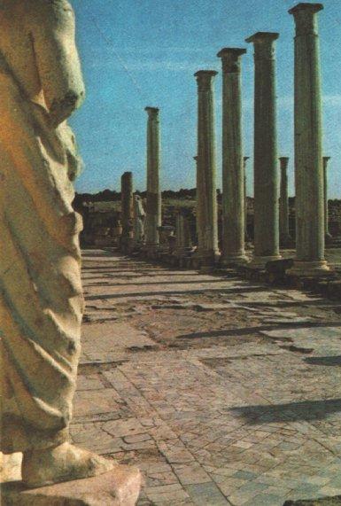 바울과 그의 일행이 제1차 전도여행에서 처음 머문 곳은 구브로의 살라마였다. 여기서 그들은 로마 문명의 세력과 맞부딪쳤다.