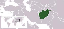 아프가니스탄지도
