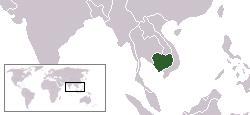 캄보디아지도