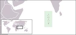 몰디브지도