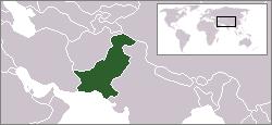 파키스탄지도