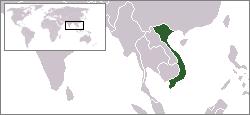 베트남지도